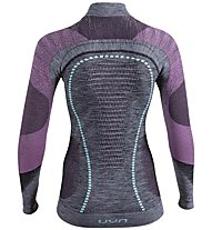 Uyn Ambityon - Funktionsshirt langarm - Damen, Grey/Light Blue/Pink