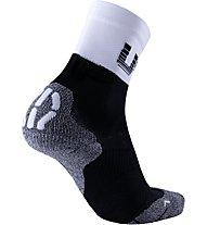 Uyn L Cycling Light SCKS - calzini da ciclismo, Black/White