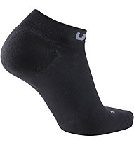 Uyn Trainer No Show - Laufsocken, Black/Grey