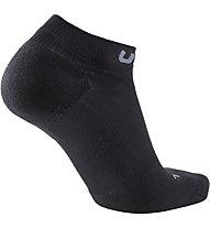 Uyn Trainer No Show - calzini corti running - donna, Black/Grey