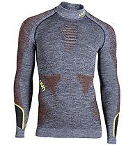 Uyn Ambityon - Funktionsshirt - Herren, Grey/Orange/Yellow