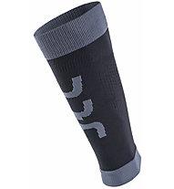 Uyn Calf Fly - Beinwärmer - Unisex, Black/Grey
