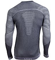Uyn Cashmere Shiny - maglietta tecnica - uomo, Dark Grey