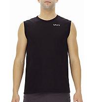 Uyn Running Airstream Ow - maglia running - uomo, Black