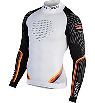 Uyn Natyon Germany Turtle Neck - maglietta tecnica - uomo, White