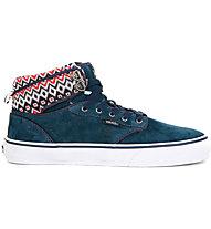 Vans Atwood Hi W - Sneakers - Damen, Navy/White