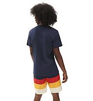 Vans MN Authentic Checker SS - T-Shirt - Herren, Dark Blue