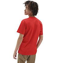 Vans MN Vans Classic - T-Shirt - Herren, Red/White