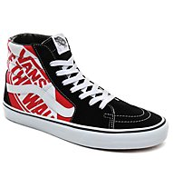 Vans UA SK8-Hi OTW Quarter - sneakers - uomo, Black/Red