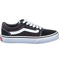 Vans YT Ward Suede/Canvas - sneakers - bambino, Black/White
