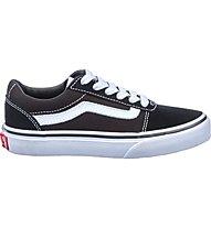 Vans YT Ward Suede/Canvas - Sneaker - Kinder, Black/White