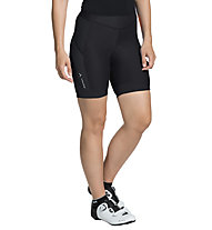 Vaude Advanced IV - pantaloncino bici - donna, Black