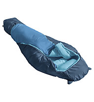Vaude Alpli Adjust 400 Syn - Kunstfaserschlafsack - Kinder, Blue