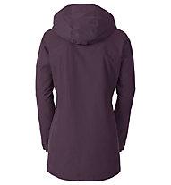 Vaude Altiplano Wool Parka - giacca con cappuccio - donna, Pink