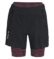 Vaude Altissimi Shorts - Radhose MTB - Damen, Black