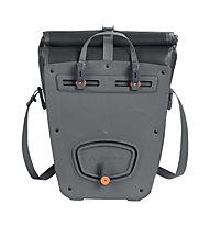 Vaude Aqua Back Plus Hinterrad-Fahrradtaschen Paar (zwei Taschen), Black