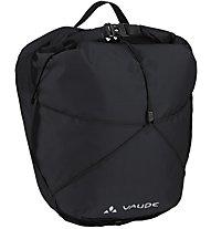 Vaude Aqua Front Light - borsa bici, Black