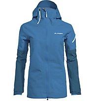 Vaude Back Bowl 3L - giacca hardshell con cappuccio - donna, Light Blue