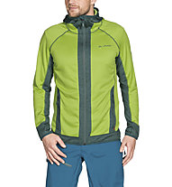 Vaude Back Bowl Fleece - giacca in pile con cappuccio - uomo, Green