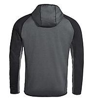 Vaude Back Bowl Fleece - giacca in pile - uomo, Grey/Black