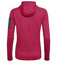 Vaude Back Bowl Fleece - felpa in pile con cappuccio - donna, Pink