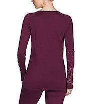 Vaude Base - maglia a maniche lunghe - donna, Pink