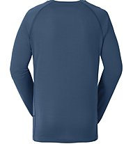 Vaude Boys Paul LS Shirt Maglia a maniche lunghe bambino, Blue