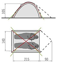 Vaude Campo Compact 2P - Zelt
