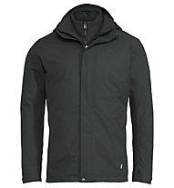 Vaude Caserina 3in1 II - giacca con cappuccio - uomo, Dark Green/Green