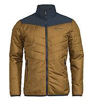 Vaude Caserina 3in1 II - giacca con cappuccio - uomo, Dark Blue/Brown