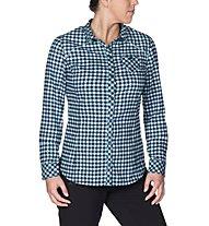Vaude Comici - Camicia a maniche lunghe trekking - donna, Light Blue