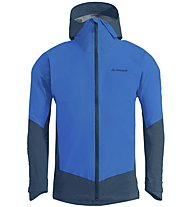 Vaude Croz 3L III - giacca hardshell - uomo, Blue/Light Blue