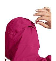 Vaude Croz 3L - giacca hardshell con cappuccio - donna, Pink