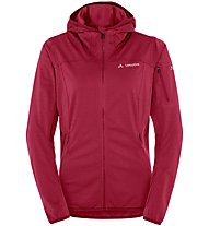 Vaude Durance Hooded Jacket Damen Softshelljacke mit Kapuze, Red