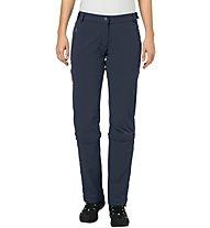 Vaude Farley Stretch - pantaloni zip-off - donna, Dark Blue