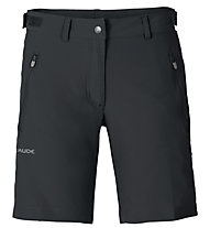 Vaude Farley Stretch Short - pantaloni corti trekking - donna, Black