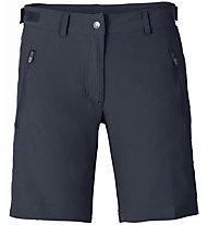 Vaude Farley Stretch Short - pantaloni corti trekking - donna, Dark Blue