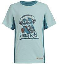 Vaude Fulmar - T-shirt - bambino, Azure