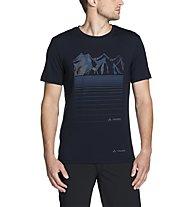 Vaude Gleann - T-Shirt Bergsport - Herren, Blue