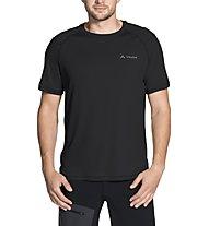 Vaude Hallett - T-Shirt Wandern - Herren, Black