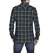 Vaude Jerpen II - camicia a maniche lunghe - uomo, Dark Green
