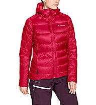 Vaude Kabru Hooded III - giacca in puma - donna, Light Red