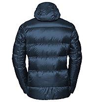 Vaude Kabru Hooded - giacca in piuma - uomo, Blue