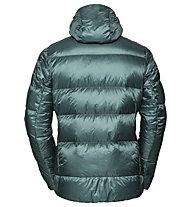 Vaude Kabru Hooded - giacca in piuma - uomo, Green