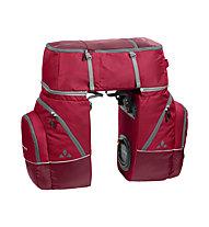 Vaude Karakorum - Fahrradtaschenset, Red