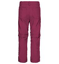Vaude Detective ZO - pantaloni escursionismo - bambino, Red