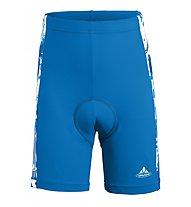 Vaude Kids Elmo Pants Pantaloni corti ciclismo Bambino, Blue