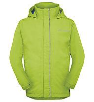 Vaude Kids Escape Light Jacket II Kinder Wander- und Bergjacke mit Kapuze, Green