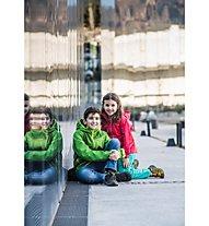 Vaude Kids Escape Light Jacket II Kinder Wander- und Bergjacke mit Kapuze, Red