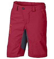 Vaude Kids Grody Shorts V Pantaloni corti MTB bambino, Indian Red